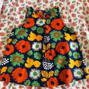 Target Marimekko Girl Shirt Sz M Floral Print